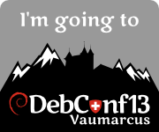 I'm going to DebConf13!