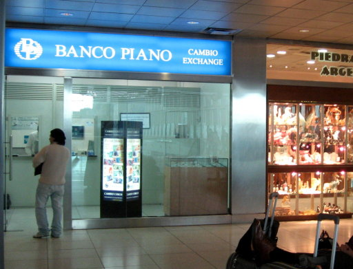 Banco Piano upstairs