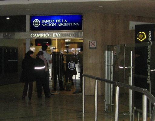 Banco Nación - Terminal B