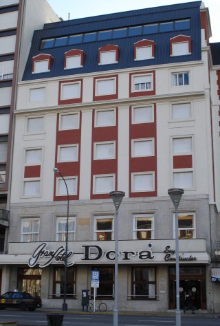 Hotel Dorá facade