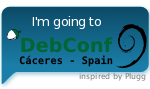 I'm going to DebConf9, edition 2009 of the annual Debian       developers meeting